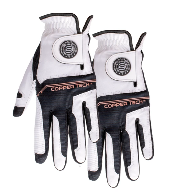 Copper Tech Golf Glove